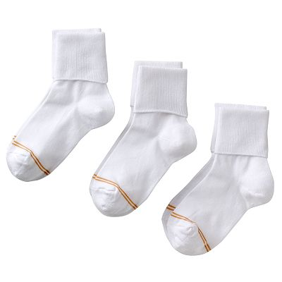 GOLDTOE 3-pk. Cuffed Socks