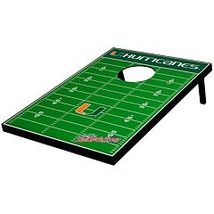 Miami Hurricanes Tailgate Toss Beanbag Game