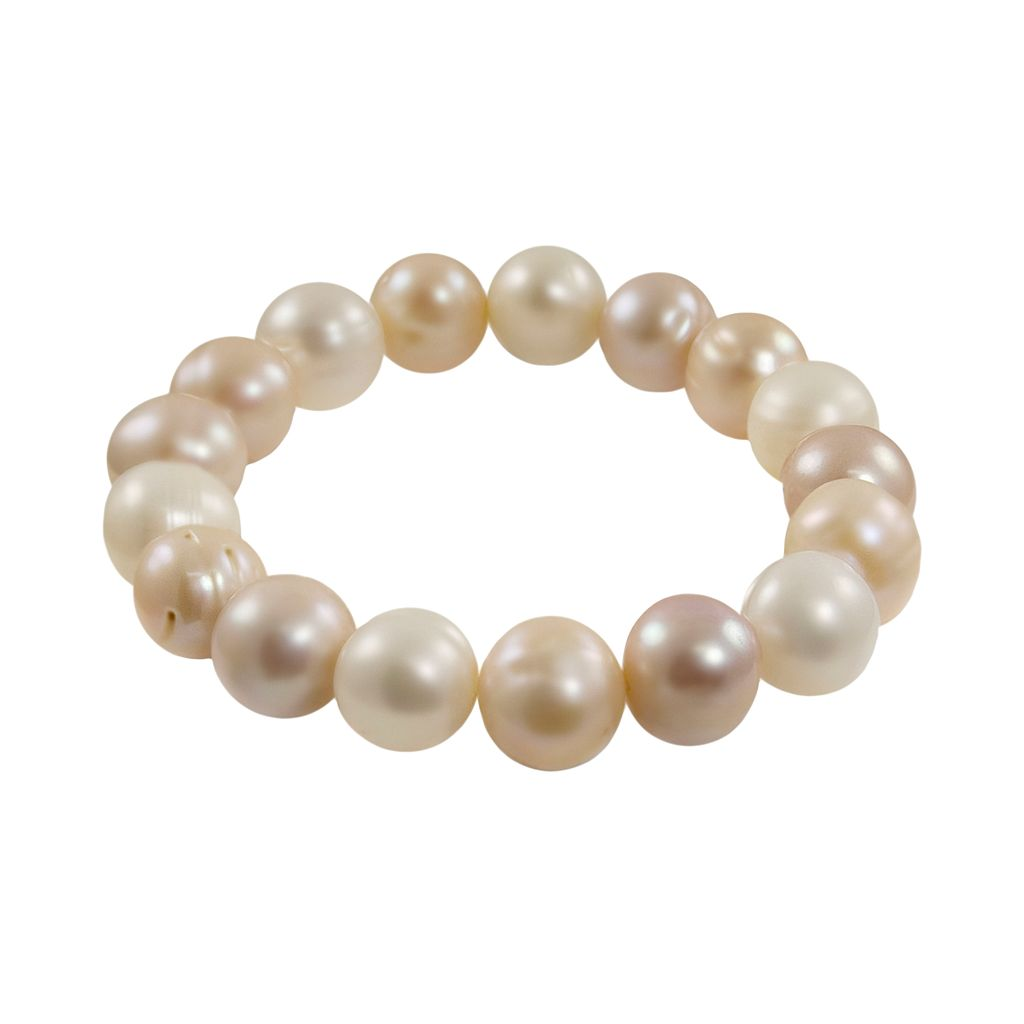 Dyed Freshwater Cultured Pearl Stretch Bracelet