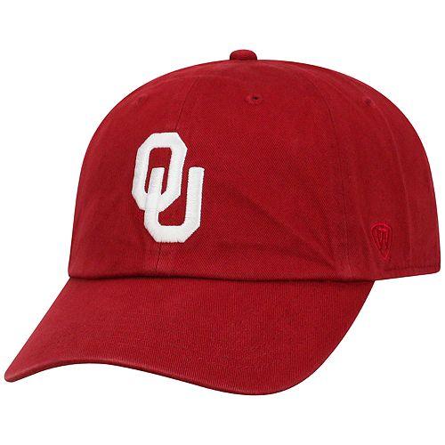 Adult Top of the World Oklahoma Sooners Crew Adjustable Cap