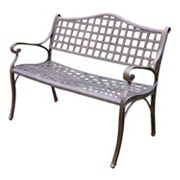 Oakland Living Elite Patio Settee Bench