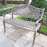 Oakland Living Mississippi Patio Settee Bench