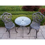 Oakland Living Hummingbird 3-pc. Patio Bistro Set