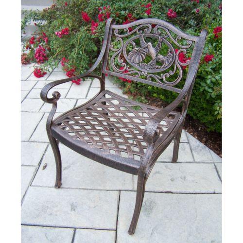 Oakland Living Hummingbird Patio Arm Chair