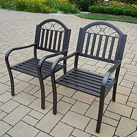 Rochester Outdoor Arm Chair 2-piece Set