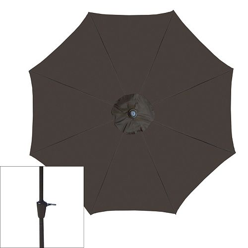 Oakland Living Crank & Tilt Sling Patio Umbrella