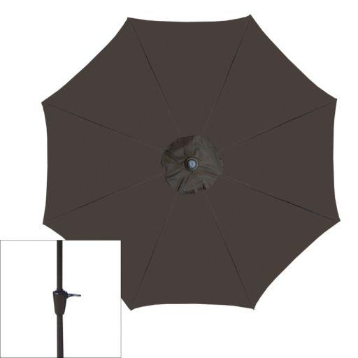 Oakland Living Crank and Tilt Sling Patio Umbrella