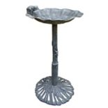 Oakland Living Frog Green Birdbath - Outdoor