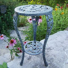 Oakland Living Grapes Table & Plant Stand - Outdoor