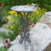 Oakland Living Butterfly & Dragonfly Birdbath - Outdoor