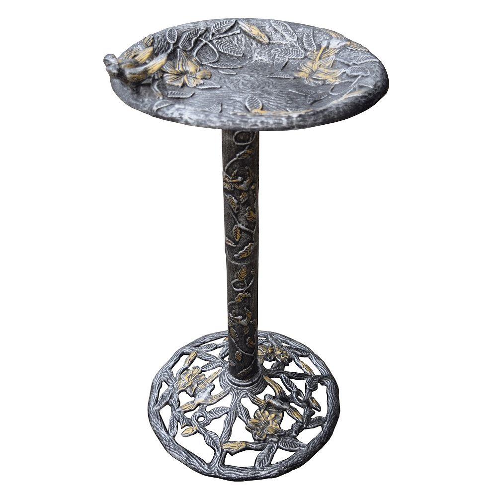 Oakland Living Hummingbird Birdbath - Outdoor