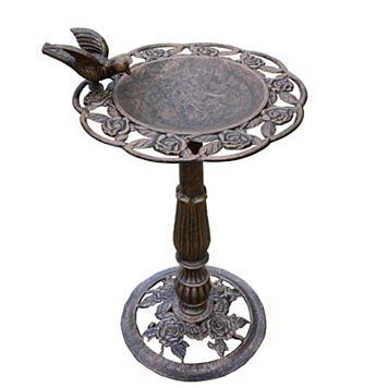 Rose Bird Bath