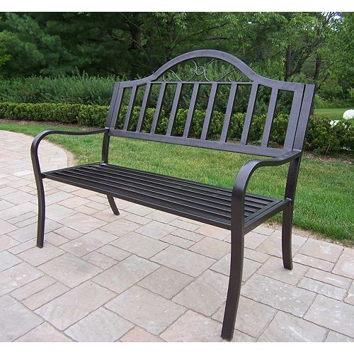 Outdoor Patio Furniture Rochester Ny: Oakland Living Rochester Patio Bench