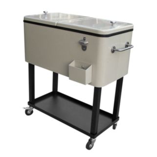 Oakland Living Outdoor Cooler Cart