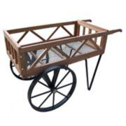 Oakland Living Garden Flower Wagon - Outdoor