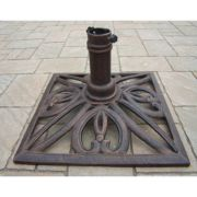 Oakland Living Square Umbrella Patio Stand - Outdoor