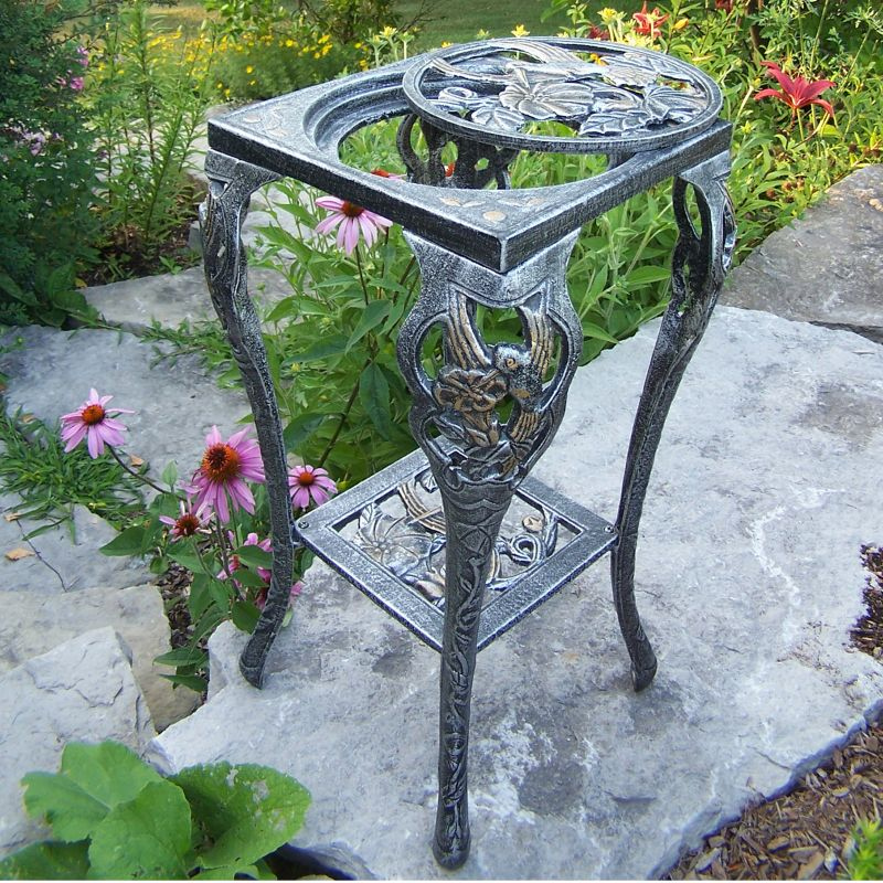 Hummingbird Table Plant Stand, Other Clrs