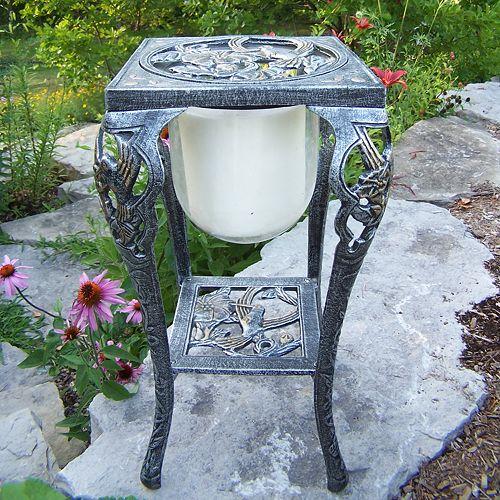 Oakland Living Outdoor Hummingbird Candleholder