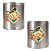 Baltimore Orioles 2-pc. Stainless Steel Can Holder Set