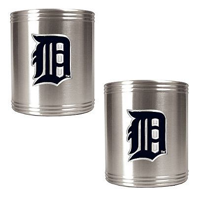 Detroit Tigers 2-pc. Stainless Steel Can Holder Set