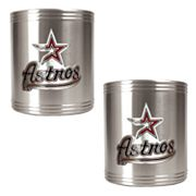 Houston Astros 2-pc. Stainless Steel Can Holder Set
