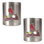 St. Louis Cardinals 2-pc. Stainless Steel Can Holder Set