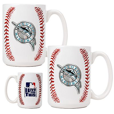 Florida Marlins 2-pc. Mug Set