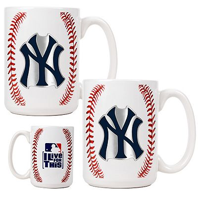 New York Yankees 2-pc. Mug Set
