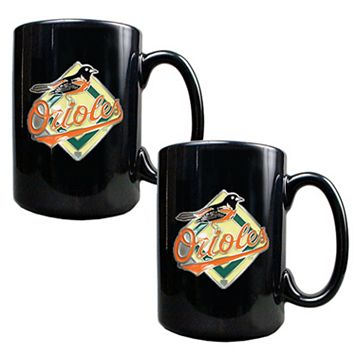 Baltimore Orioles 2-pc. Mug Set