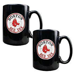Boston Red Sox 2 pc Mug Set