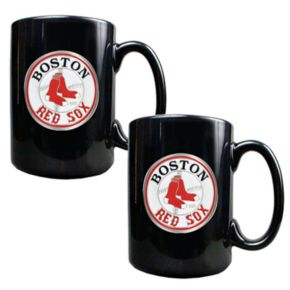 Boston Red Sox 2-pc. Mug Set