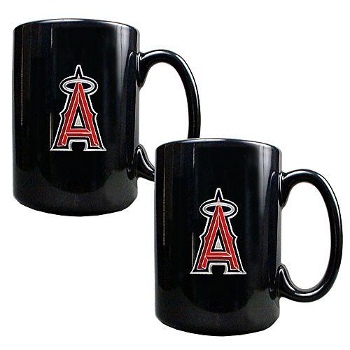 Los Angeles Angels of Anaheim 2-pc. Ceramic Mug Set
