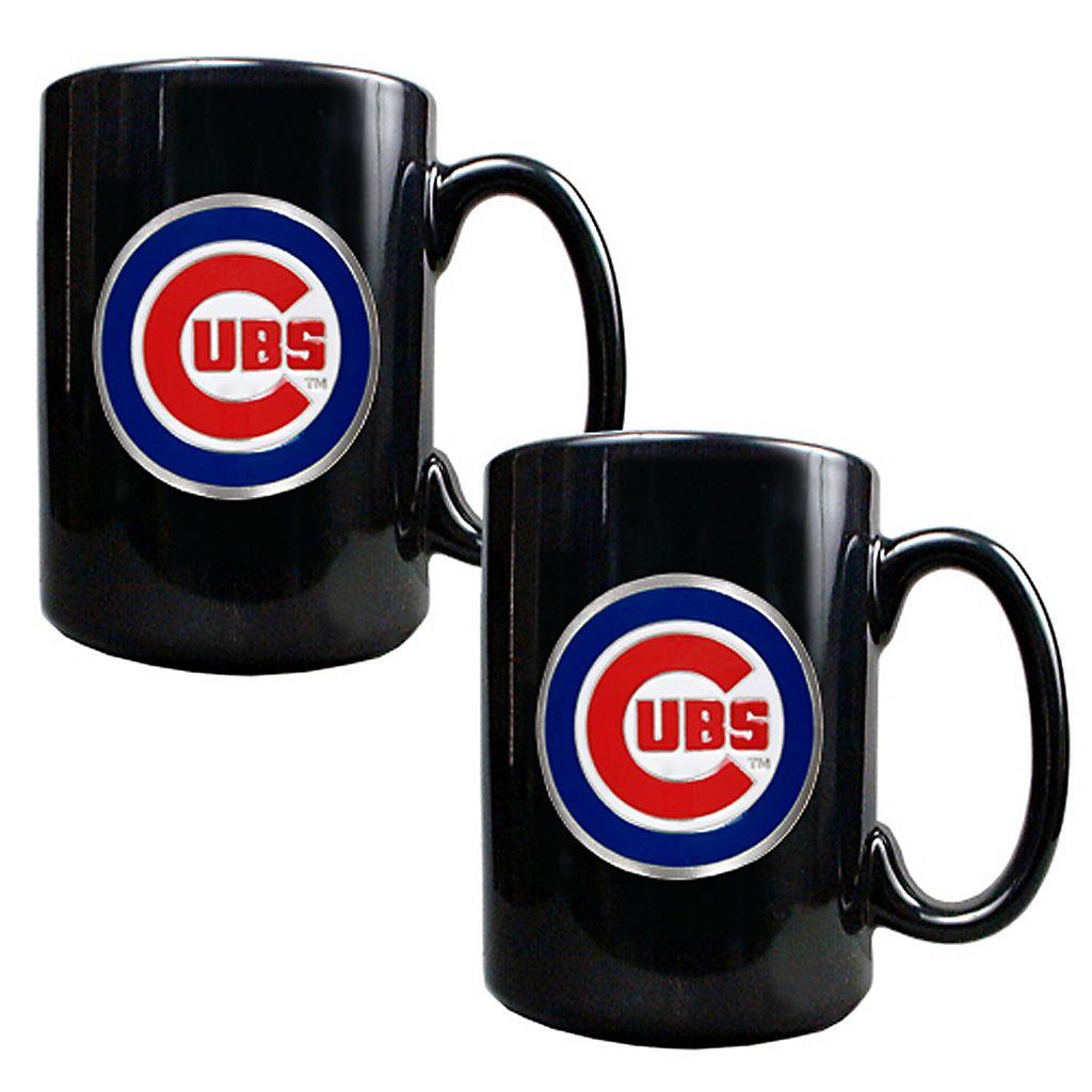 Chicago Cubs 2-pc. Mug Set