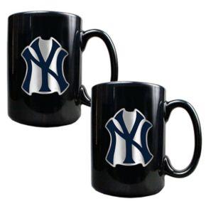 New York Yankees 2-pc. Mug Set