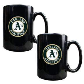 Oakland Athletics 2-pc. Ceramic Mug Set