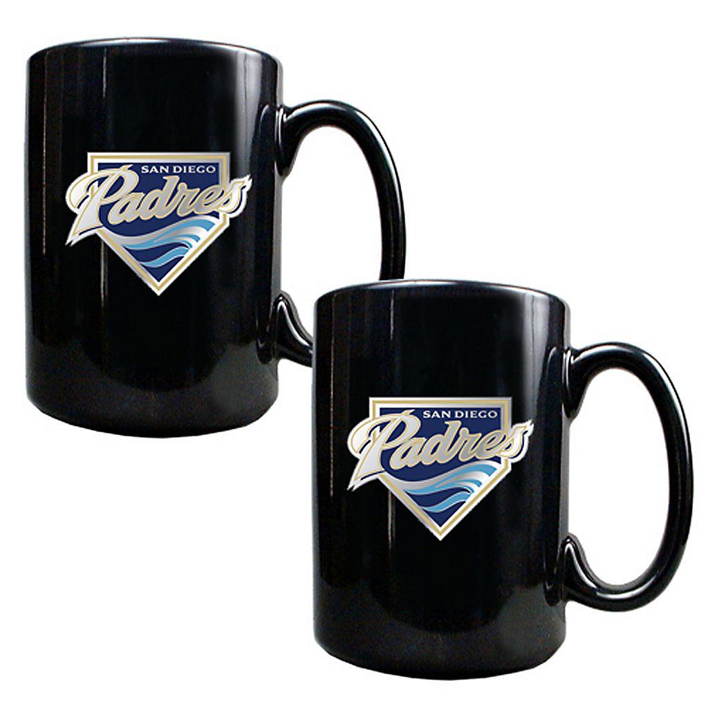 San Diego Padres 2-pc. Mug Set