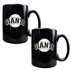 San Francisco Giants 2 pc Mug Set