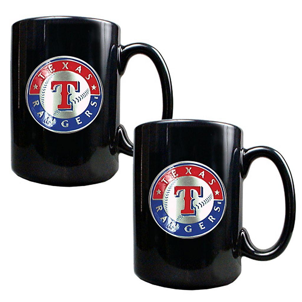 Texas Rangers 2-pc. Mug Set