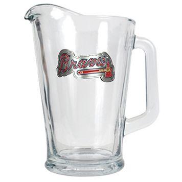 Atlanta Braves Glass Pitcher