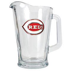 Cincinnati Reds Glass Pitcher