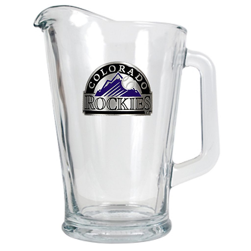 Colorado Rockies Glass Pitcher