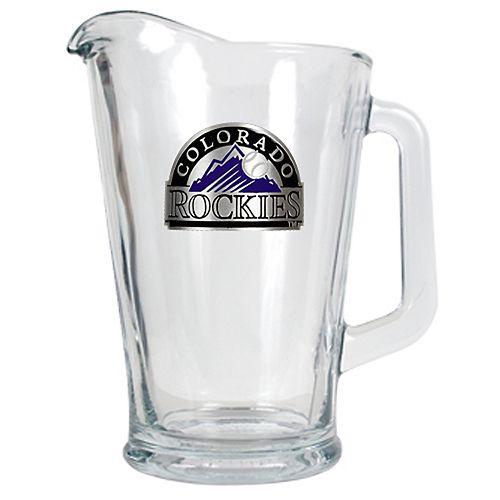 Colorado Rockies Glass Pitcher