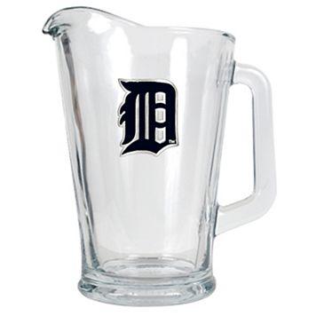 Detroit Tigers Glass Pitcher
