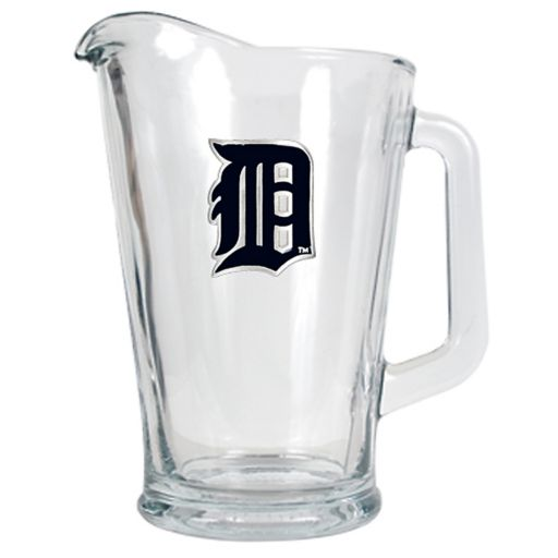 Detroit Tigers Glass Pitcher