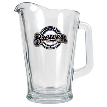 Milwaukee Brewers Glass Pitcher