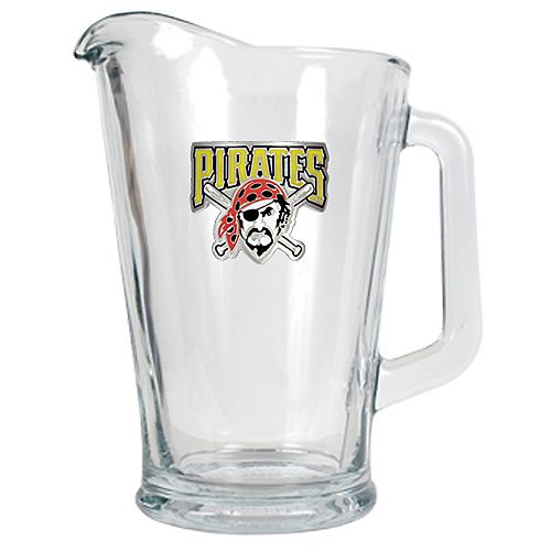 Pittsburgh Pirates Glass Pitcher