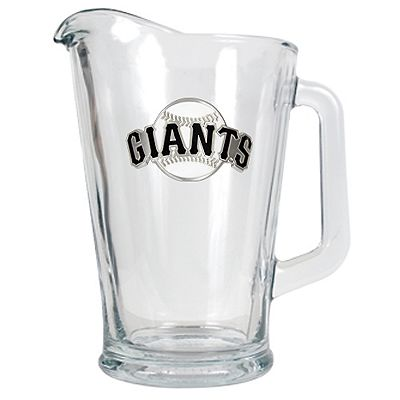San Francisco Giants Glass Pitcher