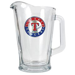 Texas Rangers Glass Pitcher