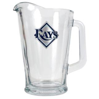 Tampa Bay Rays Glass Pitcher