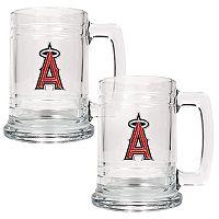 Los Angeles Angels of Anaheim 2 pc Tankard Set